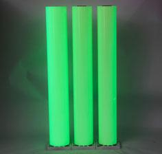 Photoluminescent Material Coating PVC Sheet Fluorescent Film